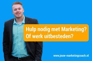 Hulp nodig met marketing