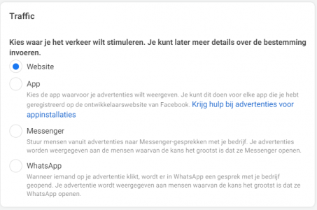 Facebook advertentie set 2