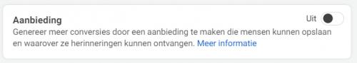 Facebook advertentie set 4