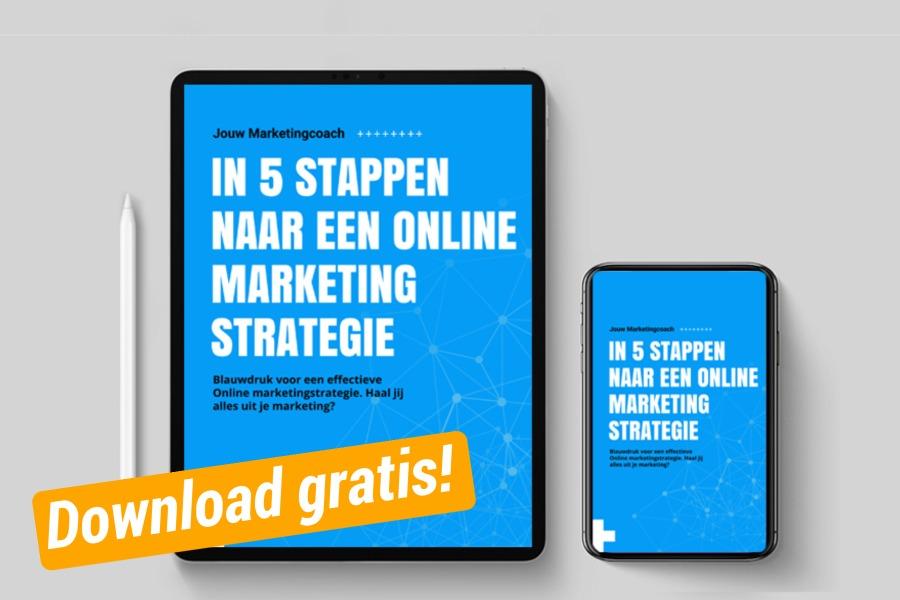 Gratis online marketing ebook