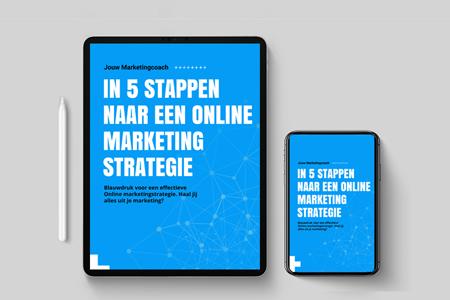 Online marketing ebook - goede online marketingstrategie