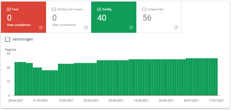 indexeringsfouten search console