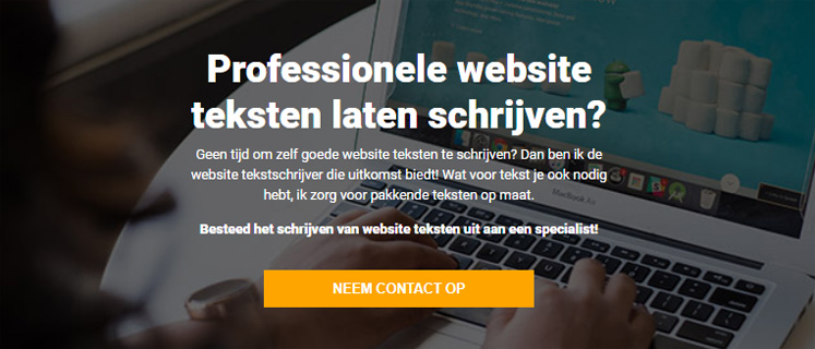 Professionele website teksten laten schrijven